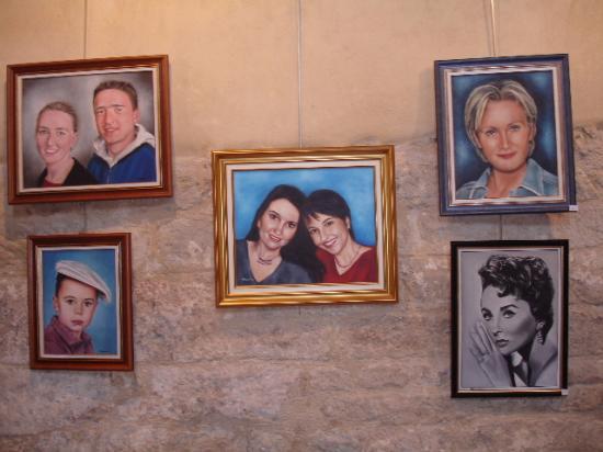 divers portraits